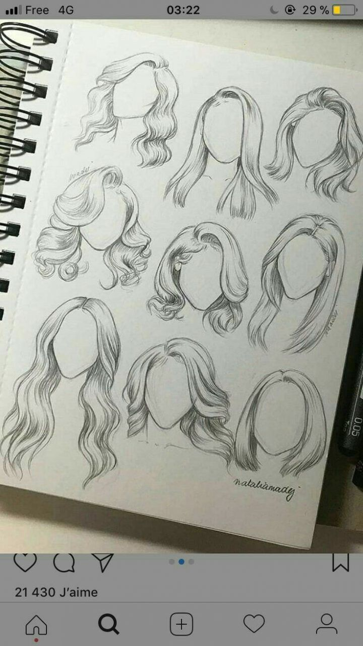 I pinned a picture like this, I loved it ... #hairstyles -   13 hairstyles Drawing manga art ideas