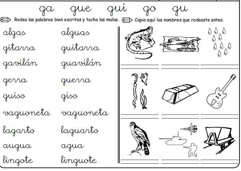 Palabras Con G Gu Buscar Con Google Palabras Con G