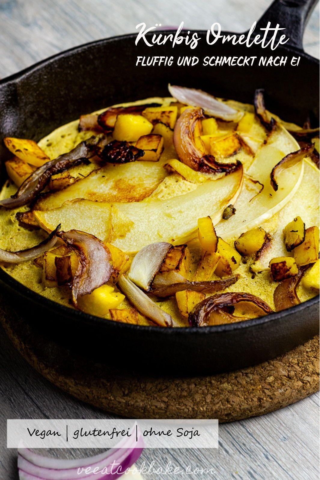 Veganes Omelett Mit Kichererbsenmehl Mit Kurbis Rezept Vegan Breakfast Recipes Plantbased Veganer Fruhstuck Kichererbsen Rezepte Und Omelette