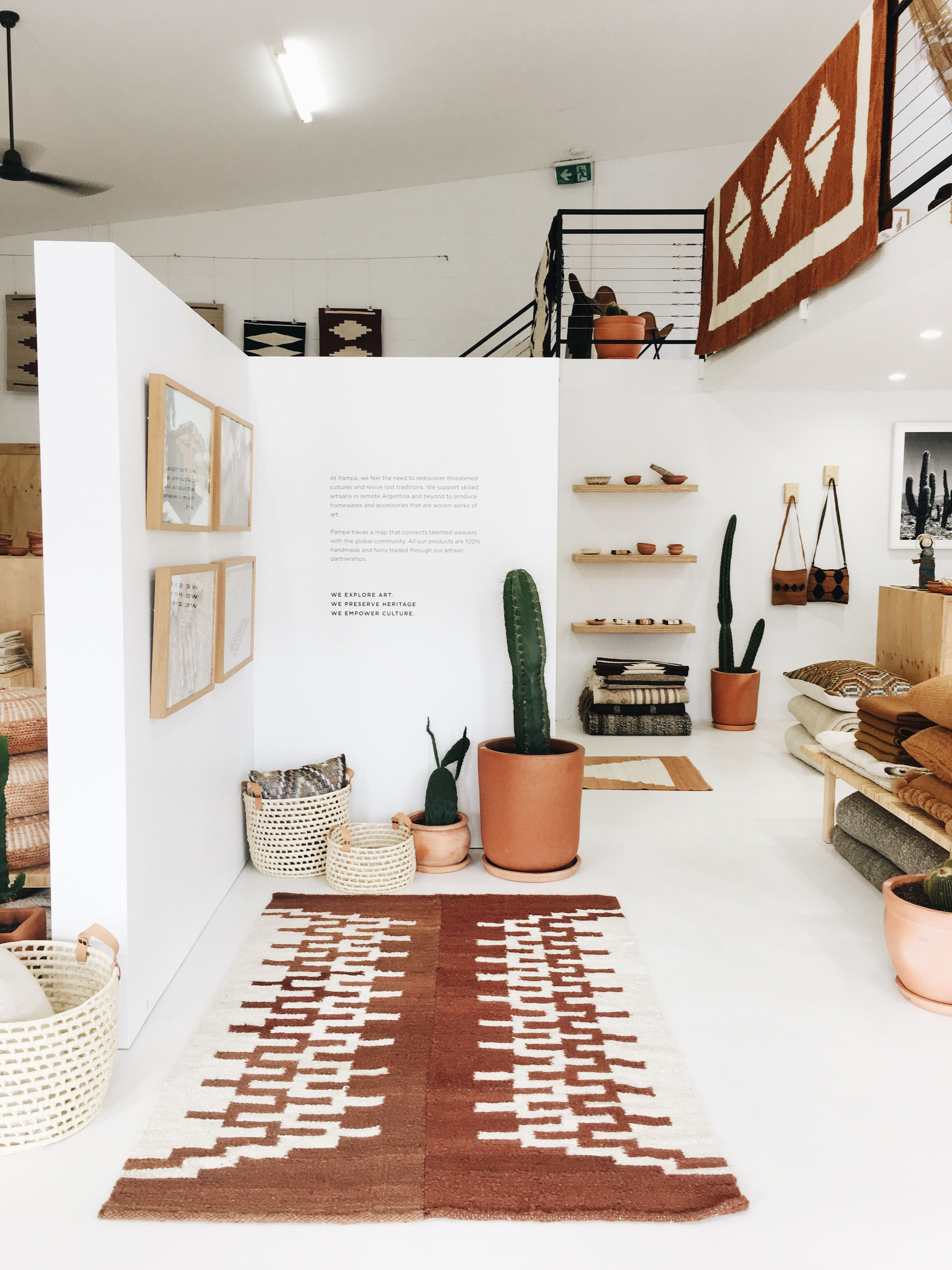 Pampa Concept Store In Byron Bay Minimalist Living Room Home
