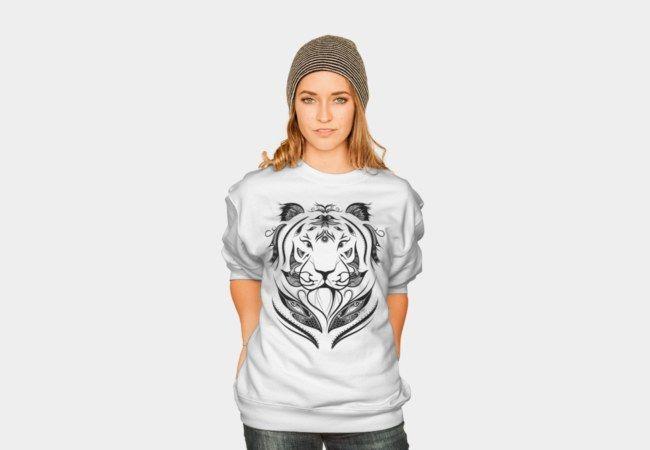 Tiger Plucked  #loujah #DBH #designbyhuman #sweatshirt #pullover