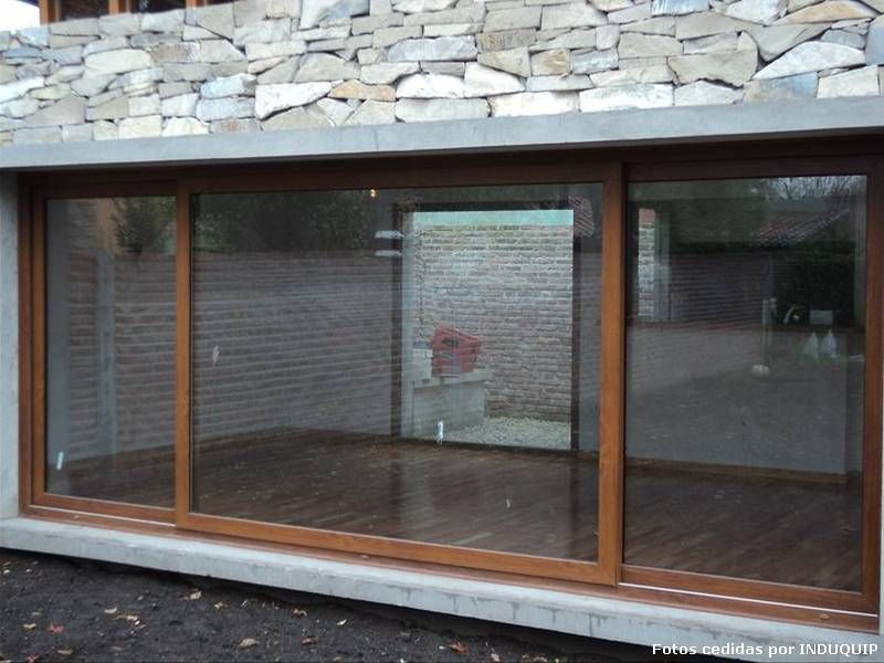 aberturas pvc simil madera buscar con google ventanas