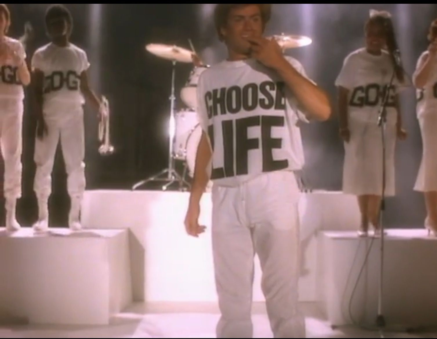 Choose Life Wake Me Up Before You Go Go George Michael Sports Jersey Choose Life