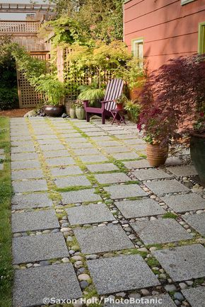 Permeable patio with concrete aggregate pavers for water drainage in permeable patio with concrete aggregate pavers for water drainage in backyard garden workwithnaturefo