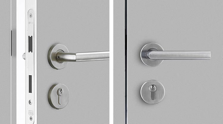 Bartels doors bartels modern custom interior doors - Interior door handles and hinges ...