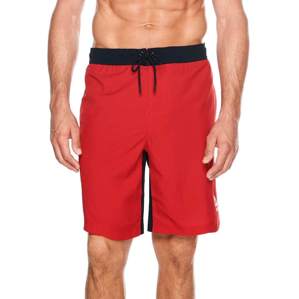 494dc4826d23e Men's Reebok Deepwater Swim Trunks, Size: XL, Med Red   Dude Outfits ...