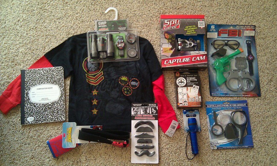 Spy Gear Themed Birthday Gift For Our 6-year-old Spy