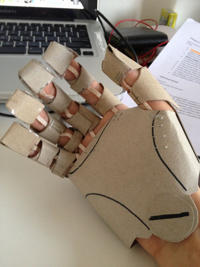 Automail Gauntlet (Cardboard) 2 by alagon1 on deviantART
