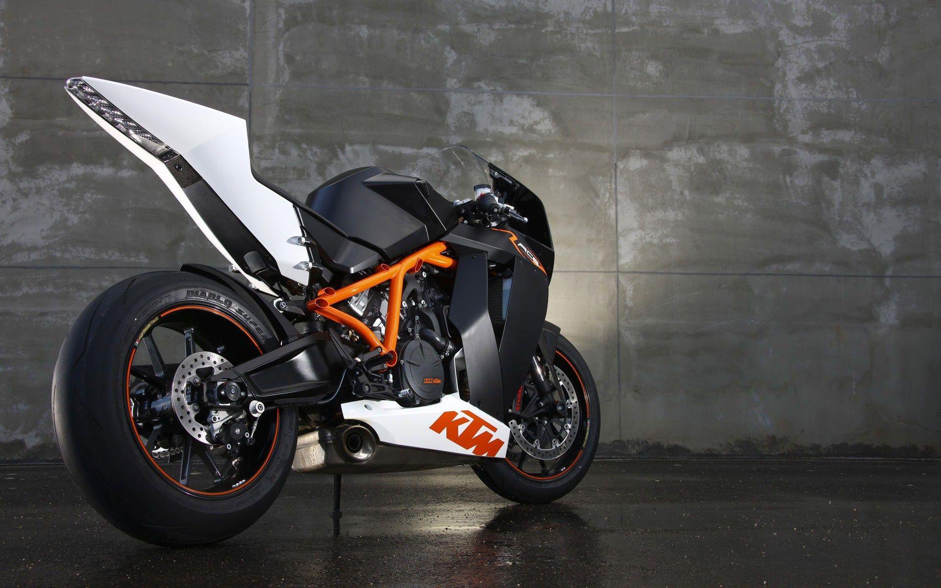 Ktm Sportsbike Superbike Motorcycle Wallpaper