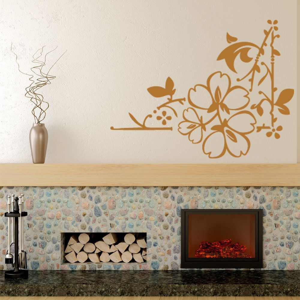 Home decor art  Style and Apply Love Leaves Wall Decal Art Home Decor  in x in
