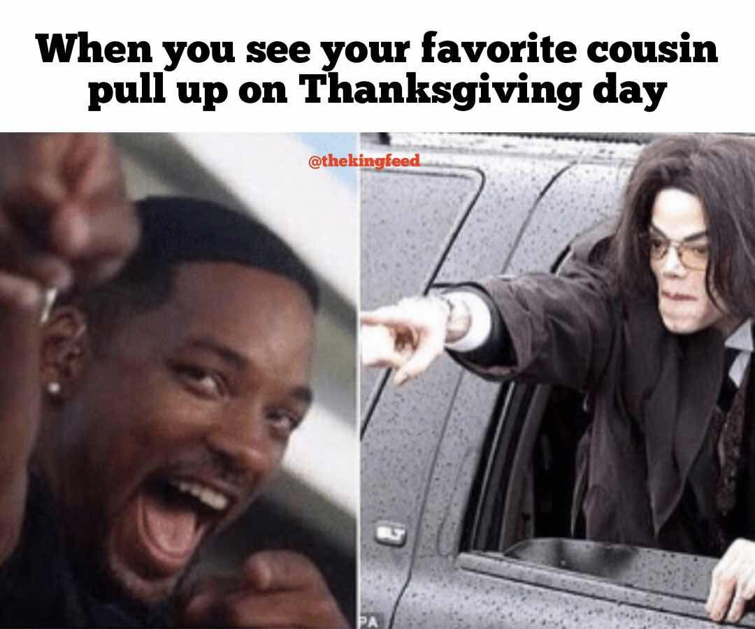 7 Hilarious Thanksgiving Memes That Are Guaranteed To Make You Lol King Feed Funny Spongebob Memes Memes Clean Memes