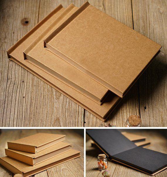 Blank Kraft Thick Hardcover Book Card Wedding Scrapbooking