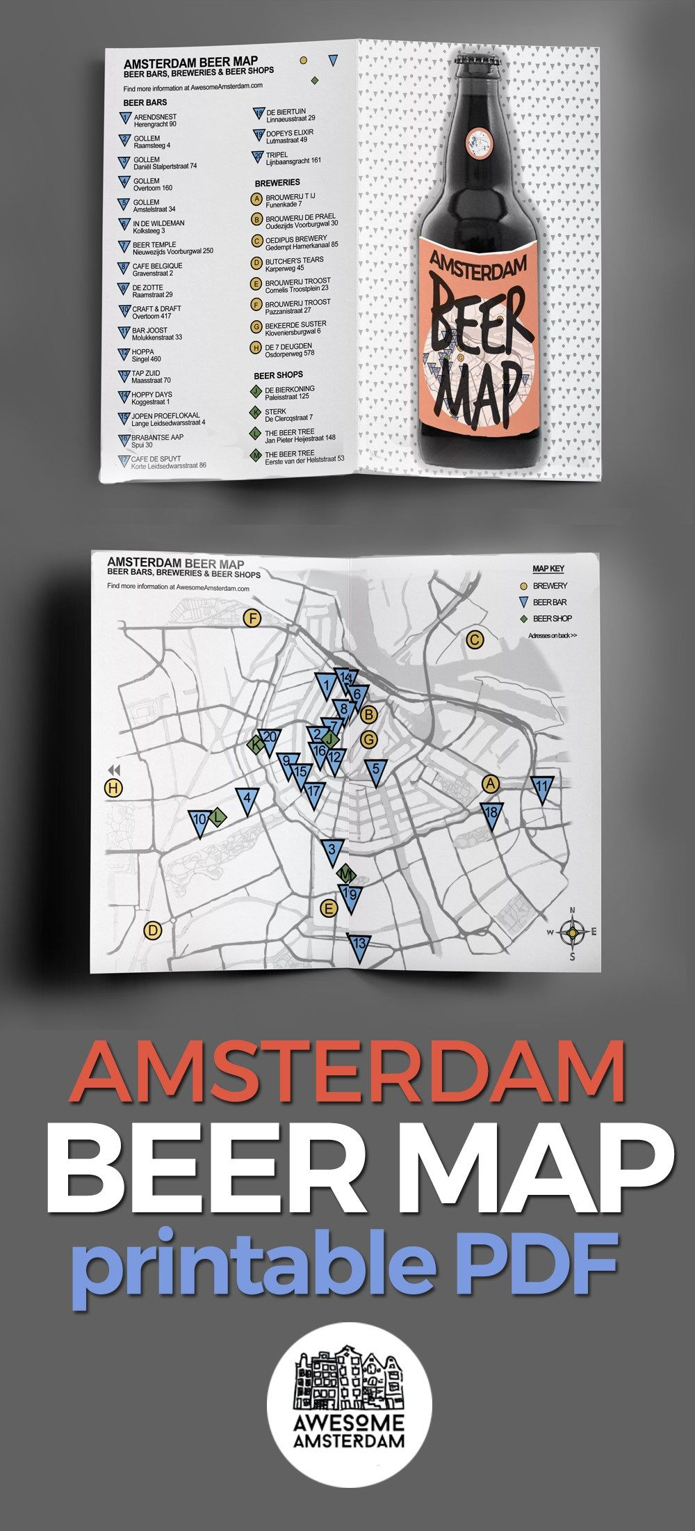 Shopping SPECIALTY BEER BARS IN AMSTERDAM u2022