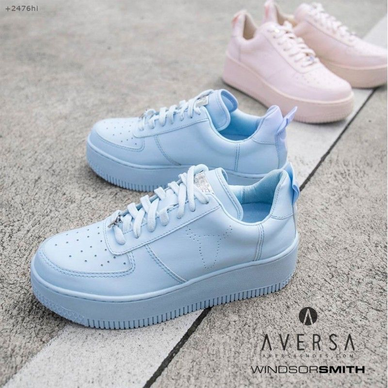 windsor smith racerr sky blue | sneakers - outfit | pinterest