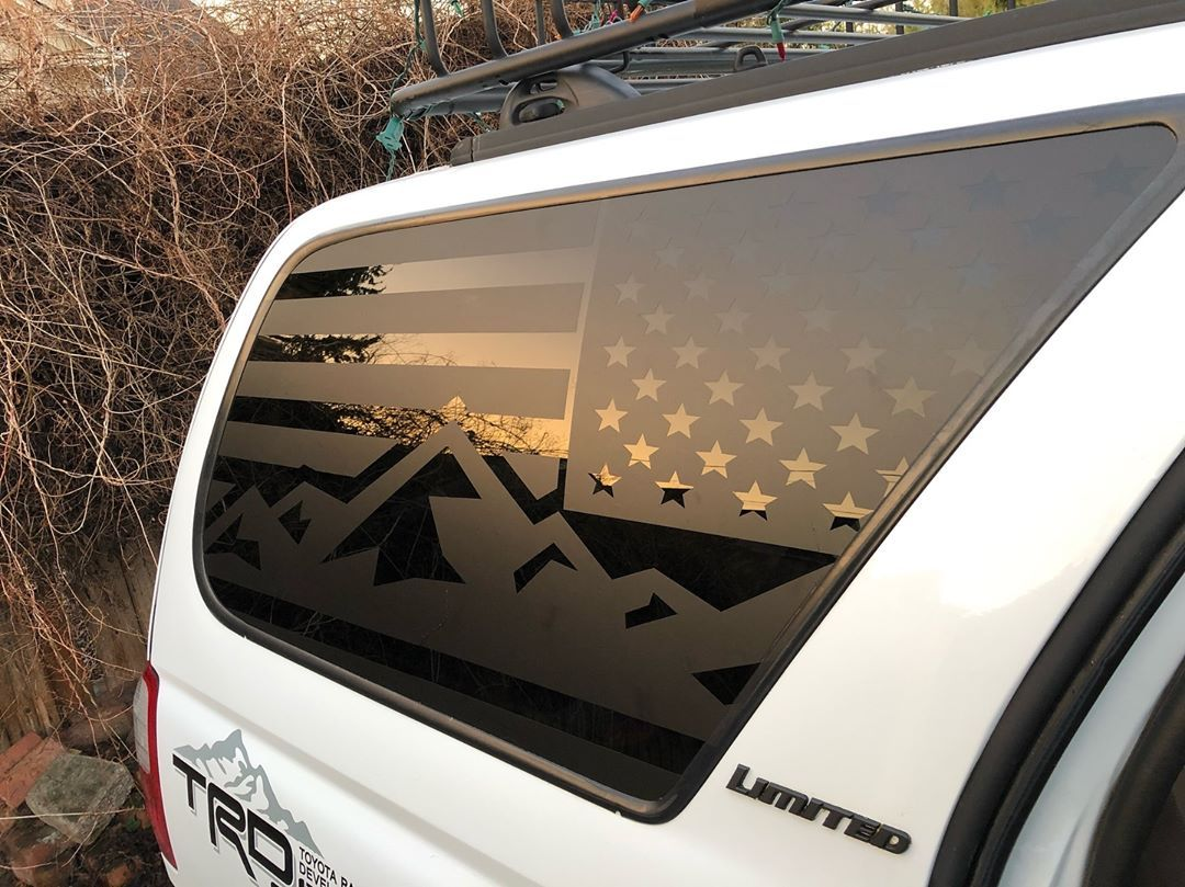 Mountain flag decal design pnwt4r tactical decals