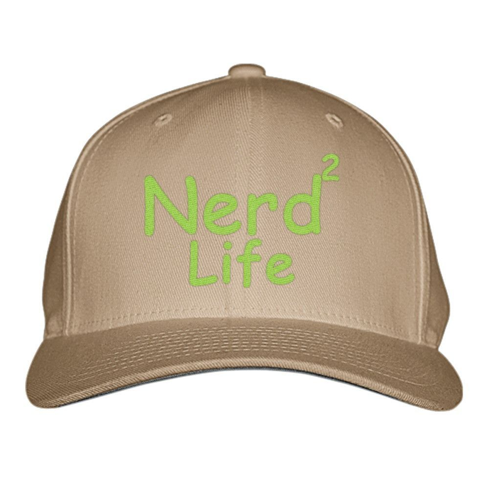Nerd To Life Embroidered Baseball Cap