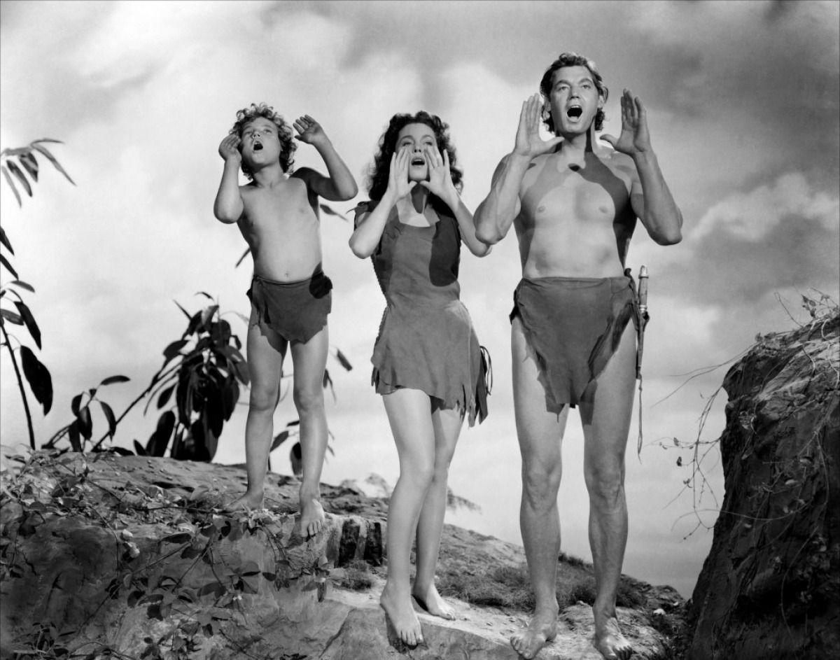 Tarzan Jane And Boy Maureen O Sullivan Photo Tarzan Tarzan Film