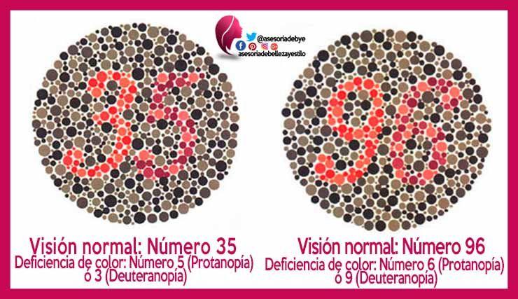 Discromatopsia test.   Daltonismo Test   Pinterest