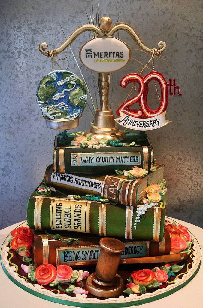 Law Firm 20th | Book cakes, Lawyer cake, Cupcake cakes