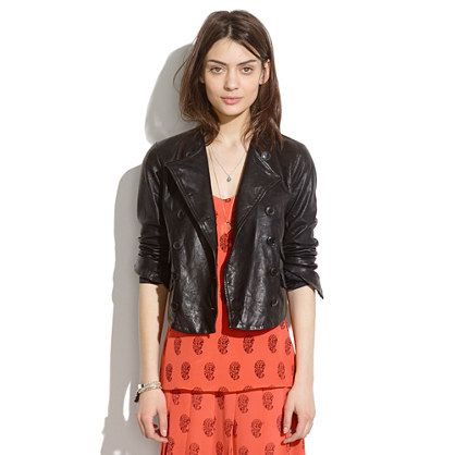 fd05e0dffa8a 7 Ways to Rock a Leather Jacket — Even in the Summer!