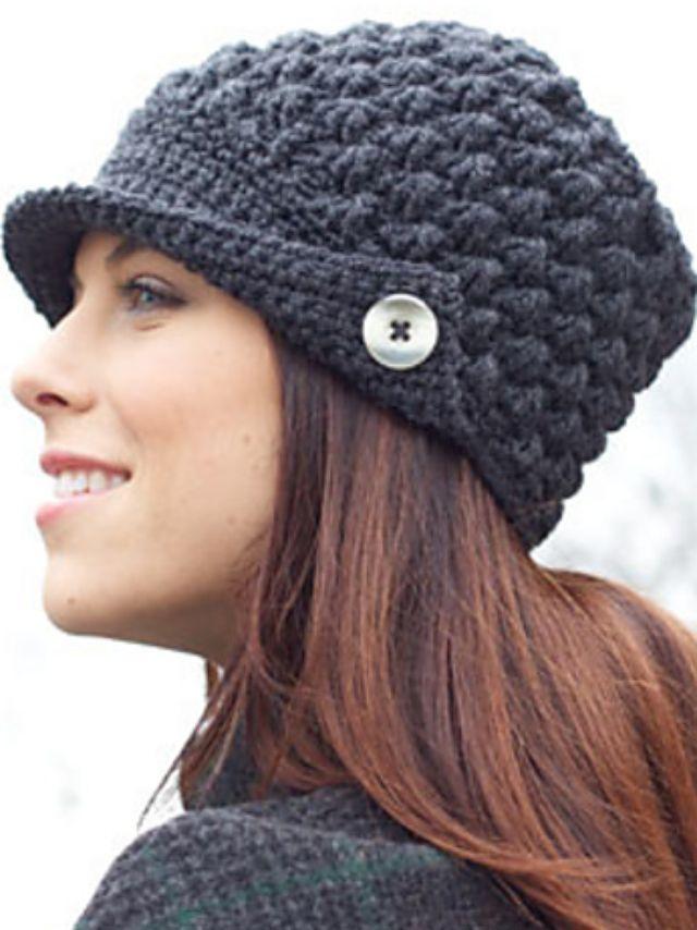 In Stitches: Crochet this stylish hat | crochet | Pinterest | Tejido