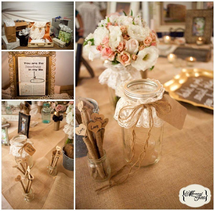 Vintage and DIY Wedding Decor Trey and Stephanie Wedding