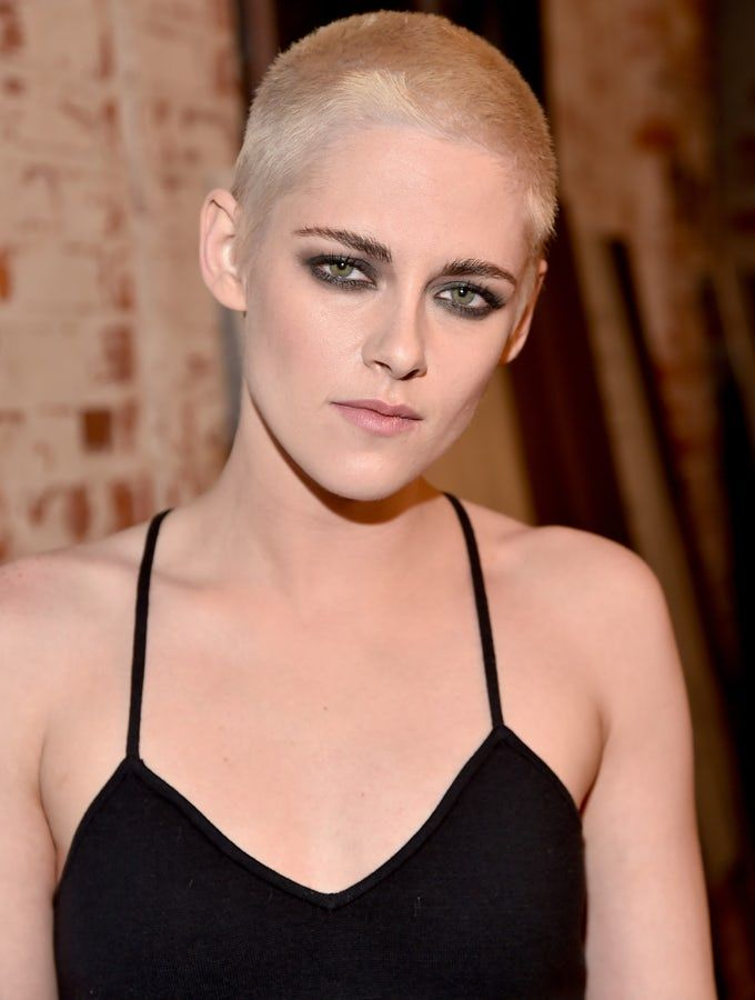 Kristen Stewarts Haircut See The Actress New Shaved Head