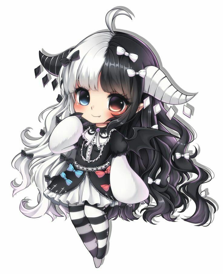 Anime Girl Chibi: Pin On Kawaii Chibi Anime Girl♡