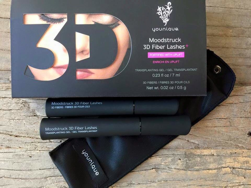 Our amazing 3D Fiber Lashes+ Mascara