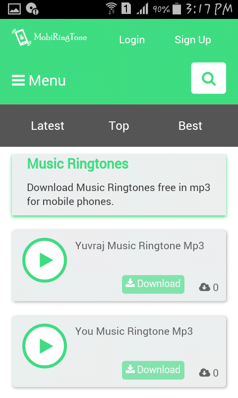 Download Music Ringtones Free In Mp3 For Mobile Phones