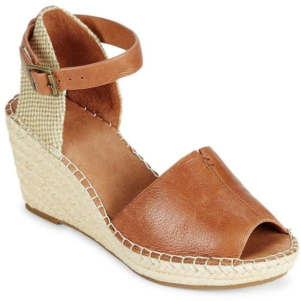 9425c2597966b Gentle Souls Charli Leather Espadrille Wedge Sandals ( 149) ❤ liked ...