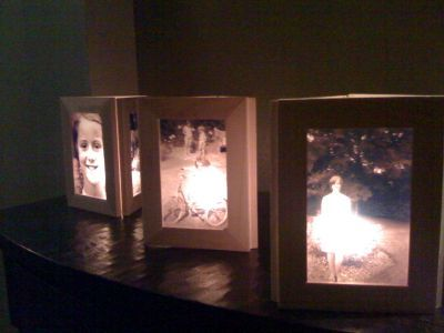 Photo frame luminaries (DIY) - so neat | Creative | Pinterest ...