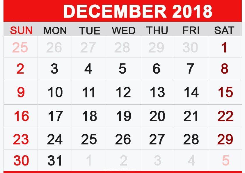 English Calendar 2018 December Us Holidays September Calendar