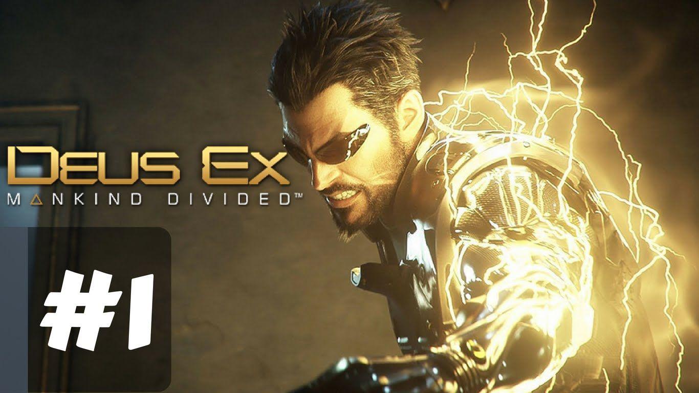 Deus Ex Mankind Divided Gameplay Walkthrough Part 1 Dubai 2029