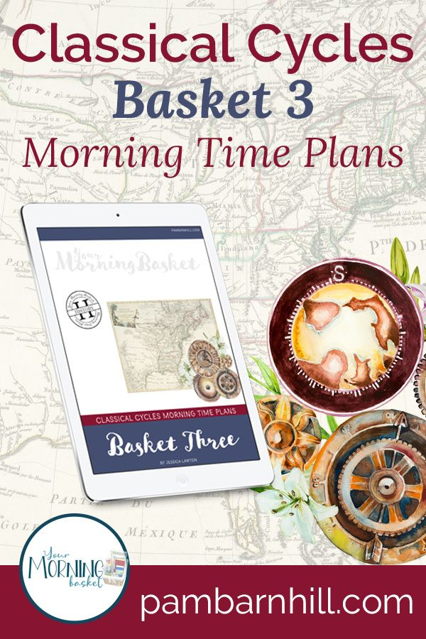 Photo of Morning Time Plans for Classical Conversations Cycle 3