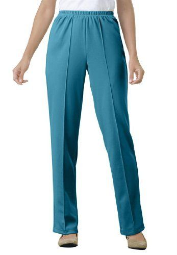 809e1366cecd4 Only Necessities Plus Size Tall Pants In Wrinkle And Stain-Resistant Knit Only  Necessities.  2.99