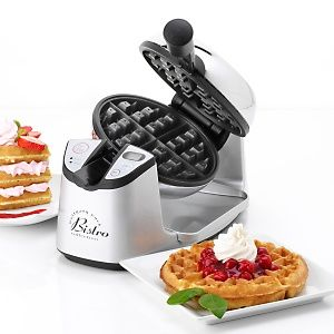 Swivel Waffle Maker  It's smaller and takes up less room! I LOVE it!!