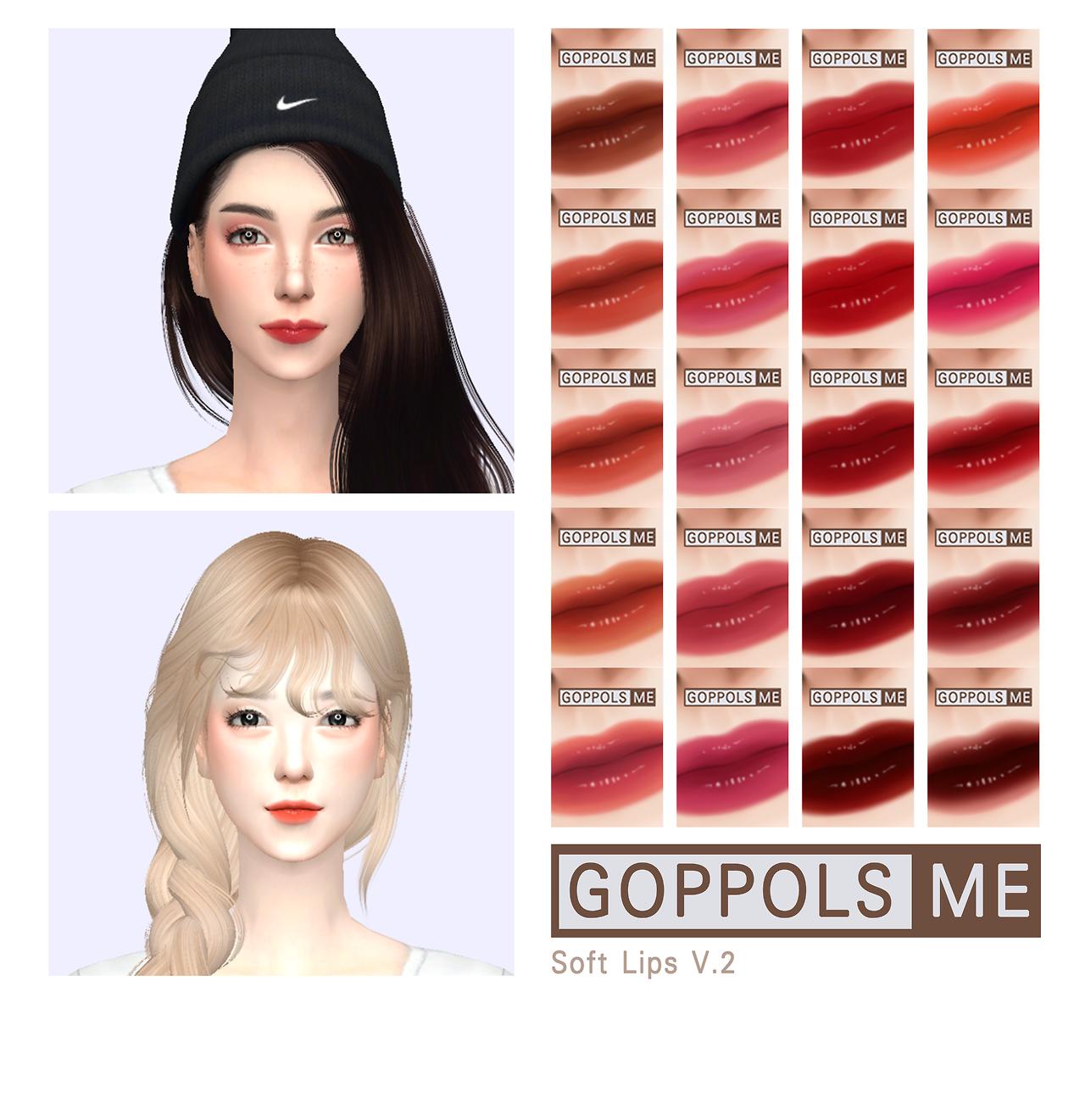 Soft Lips V.2 Download Soft Lips V2 เดอะ ซิมส์, ซิมส์