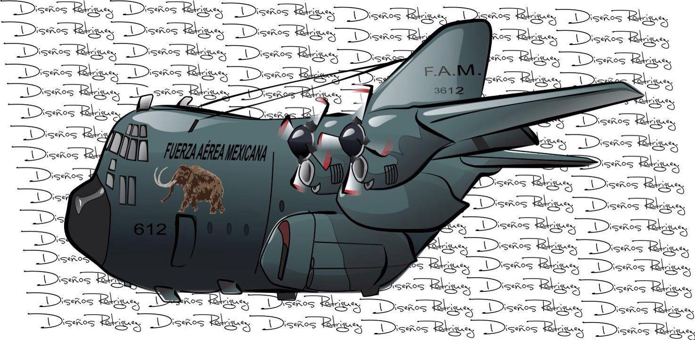 Avión Hercules Air cargo, Aviation, Aviation art