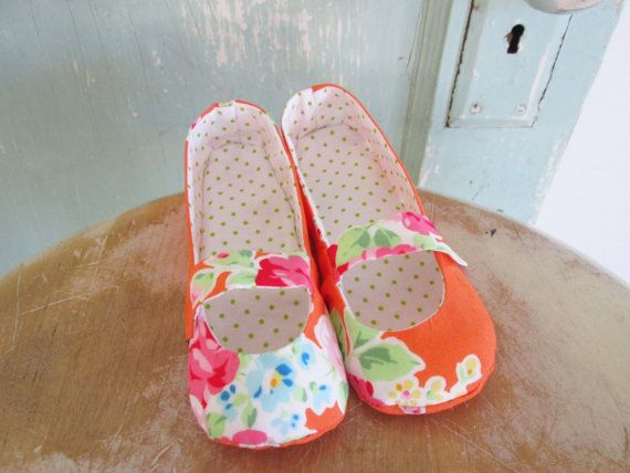 Shoe Pattern  PDF  Mary Jane flats  child size 8 to by winterpeach