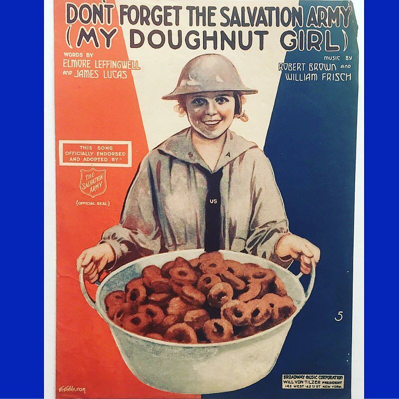 Nothing like a galvanized tub of doughnuts. You know the ones on the bottom are smashed. Those are the ones she's saving for you. by garagecon