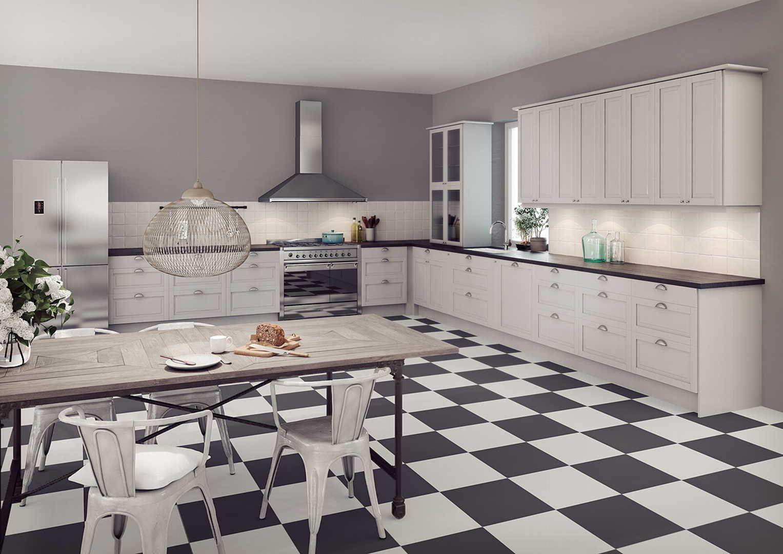 Sisustus - keittiö - Epoq - Maalaisromanttinen - Moderni - 5242c669498e62e699879817 - sisustus.etuovi.com