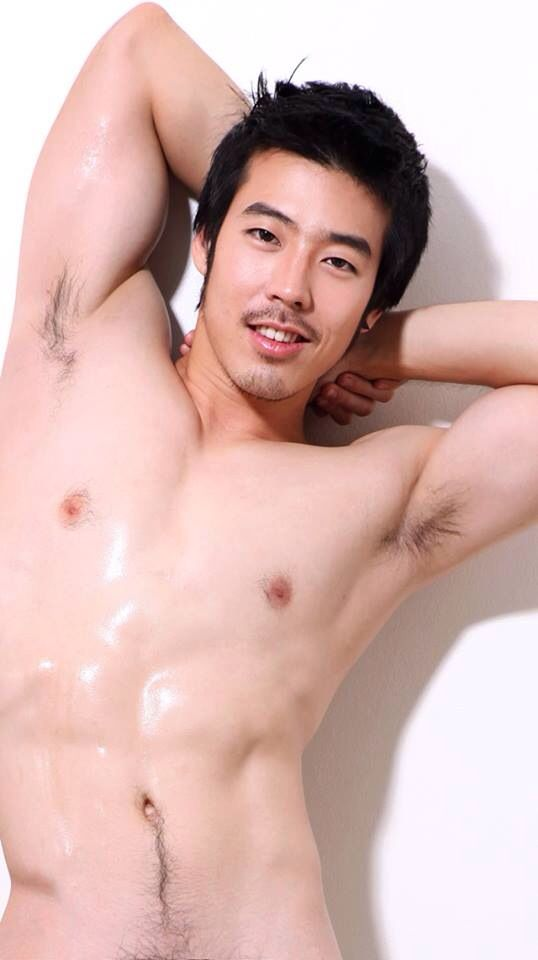 Hot hairy asian