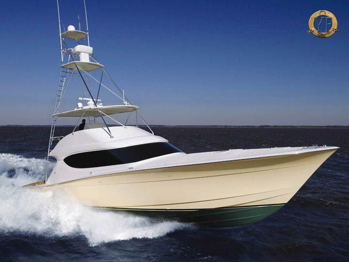 Hatteras gt running one of the best production boats for Hatteras fishing boat