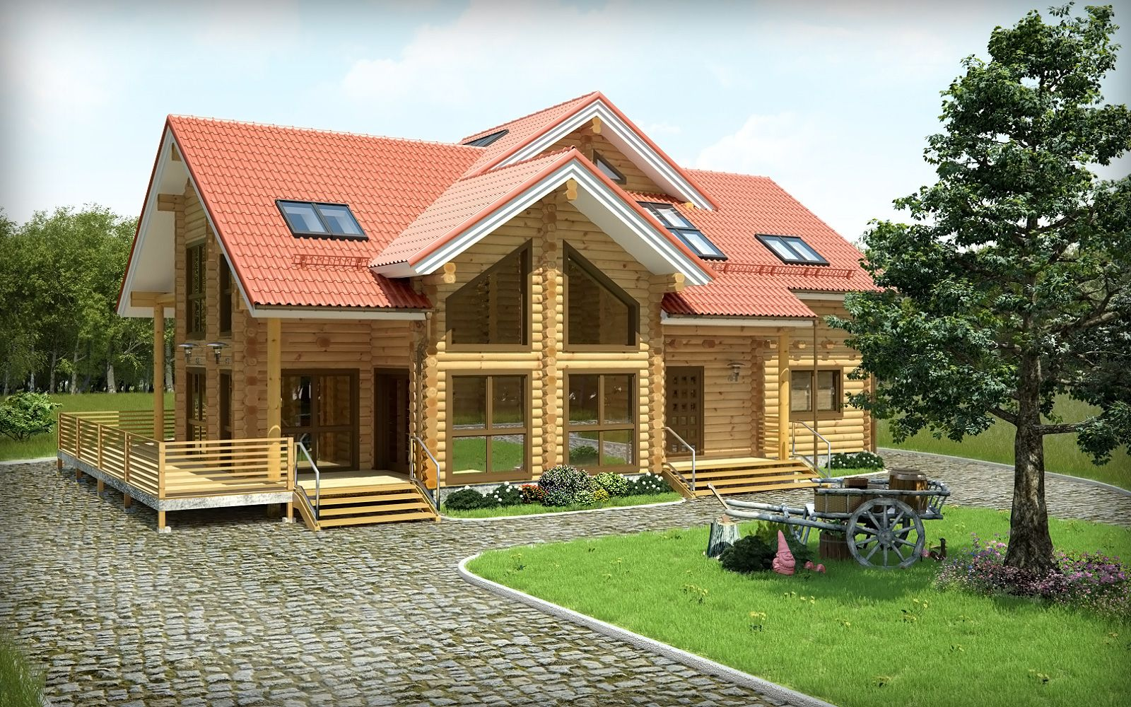 Wooden house personal collagewood houses wood wooden home design wooden house design ideas http