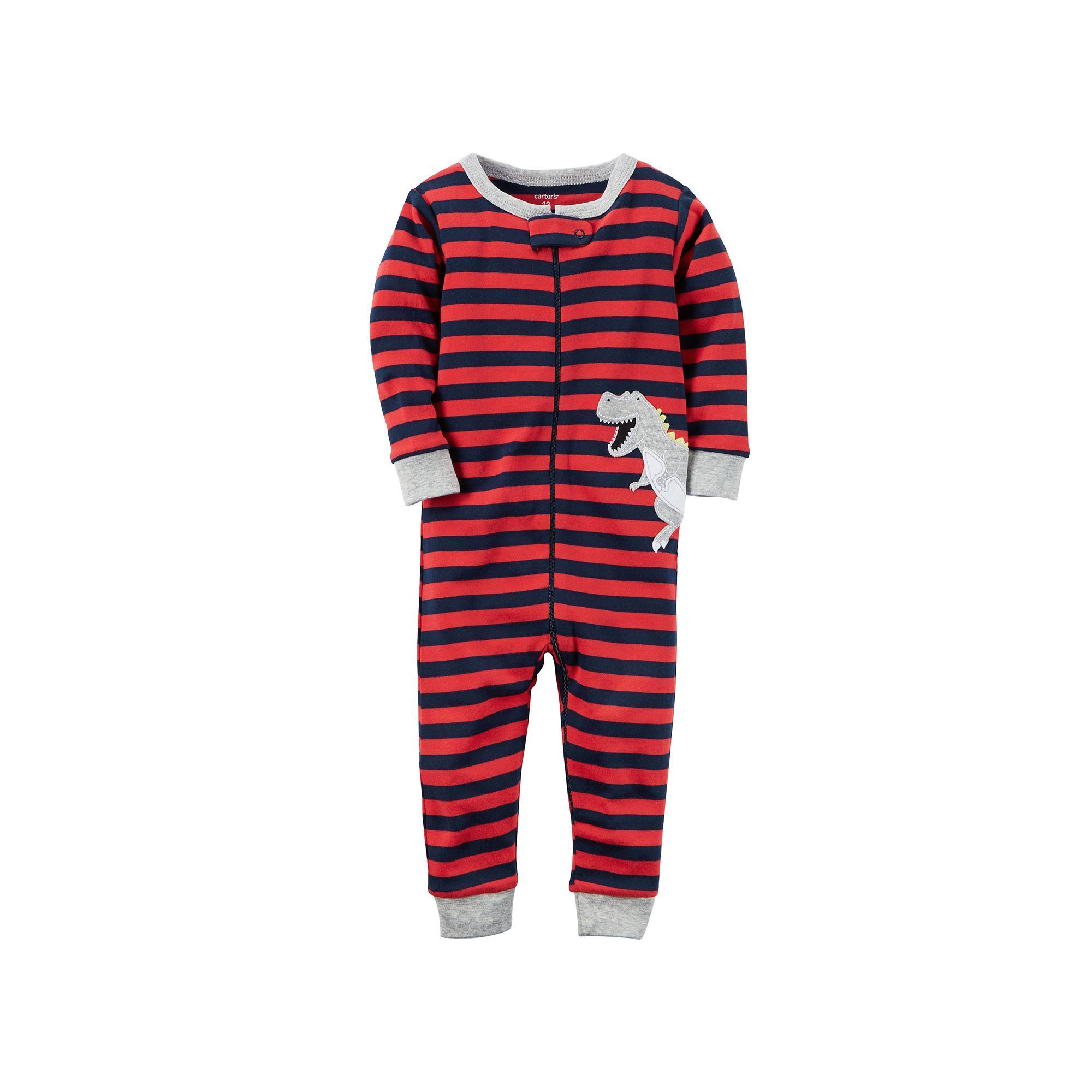 569036021 Baby Boy Carter s Striped One-Piece Pajamas