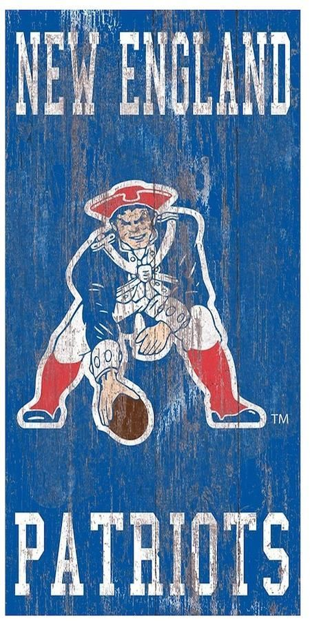 """$14 - NFL New England Patriots Heritage Logo Wall Sign for your man cave - For every die-hard New England Patriots fan, this heritage wall sign is truly a masterpiece. Officially licensed Ready to hang 12"""" x 6"""" MDF Wood Wipe clean Made in the USA Shop our full assortment of New England Patriots items here. When you're a fan, you're family! Size: Onesize. Color: Multicolor. Gender: Unisex."""