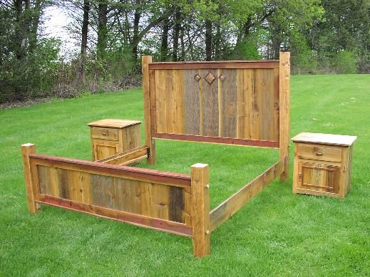 Bedroom Furniture Made From Pallets i think you could make this out of pallets! i can see my new