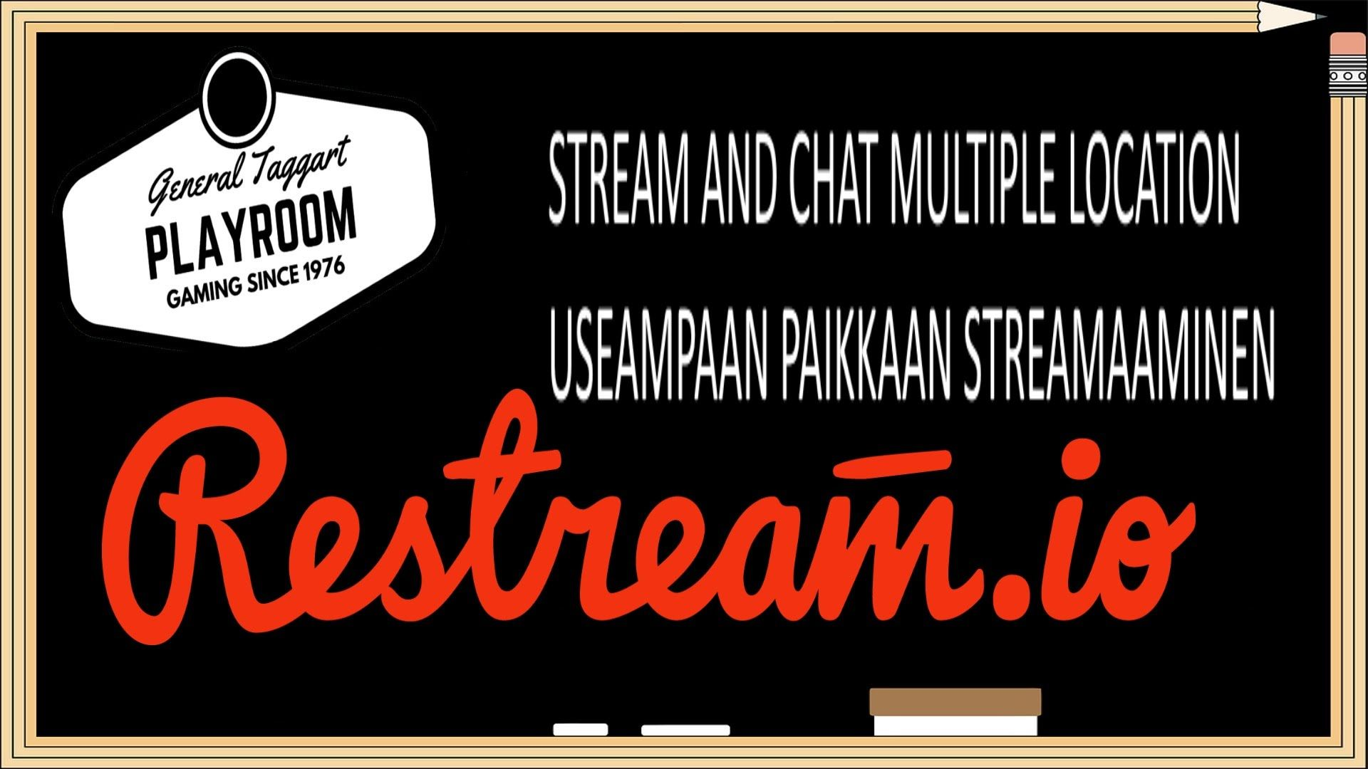 Miten streamata ja keskustella useaan paikkaan kerralla RESTREAM.IO esittely Live lähetysten parhaat