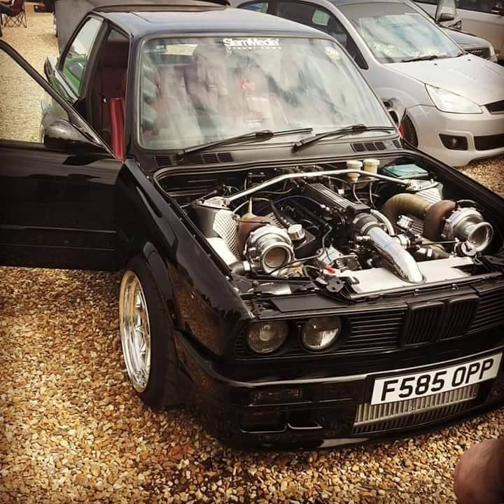 BMW E30 With Twin Turbo Ls Swap